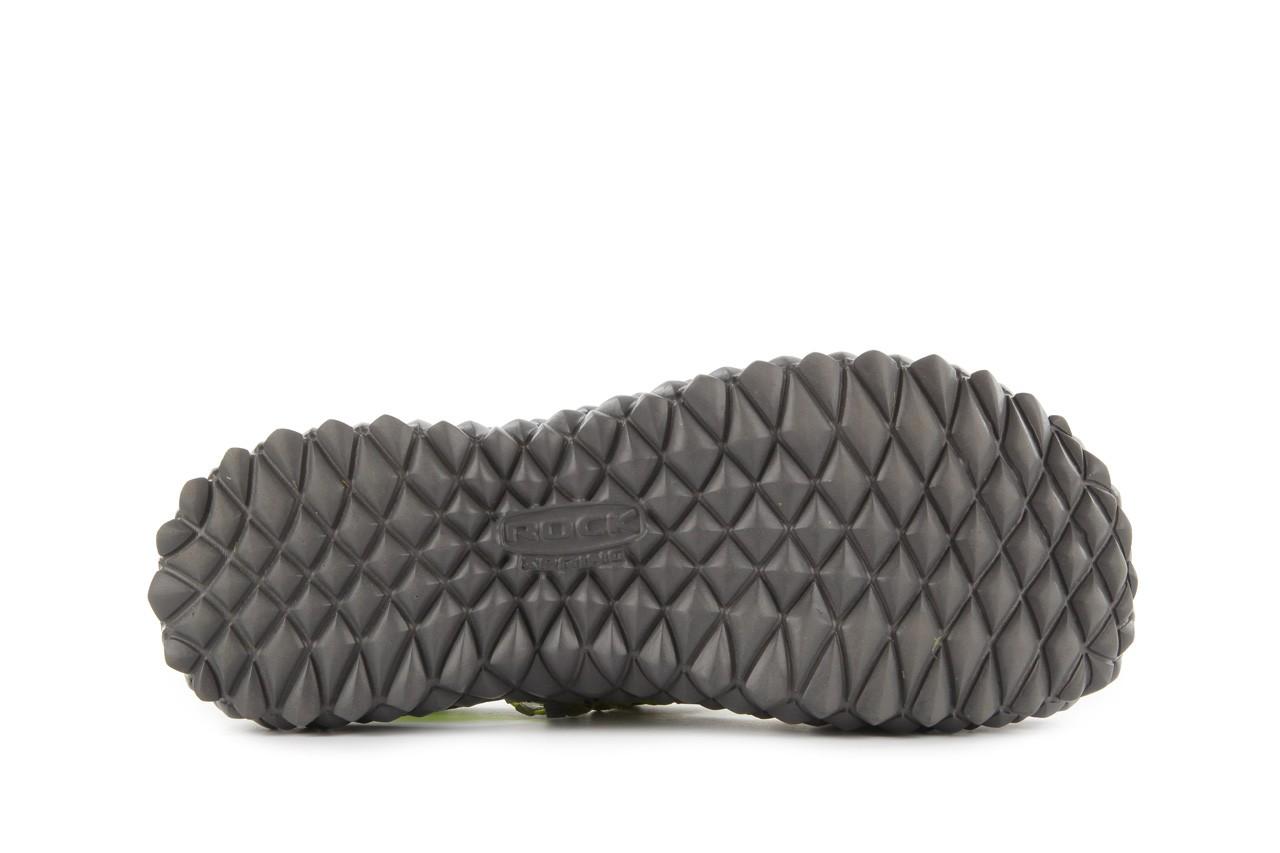 Sandały rock over sandal green-grey, zielony/ szary, materiał  - rock - nasze marki 13