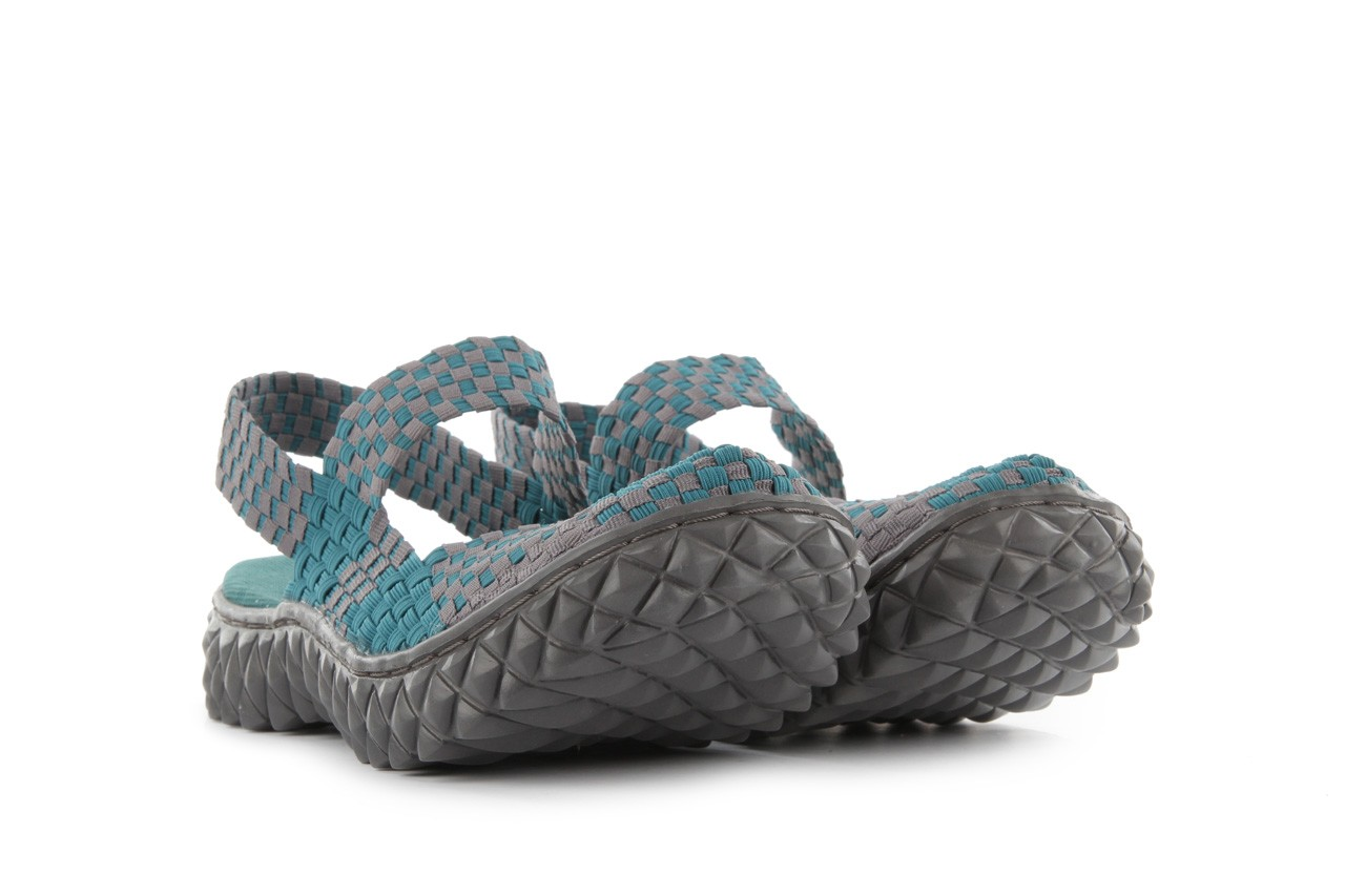 Rock over sandal petrol-grey - rock - nasze marki 8