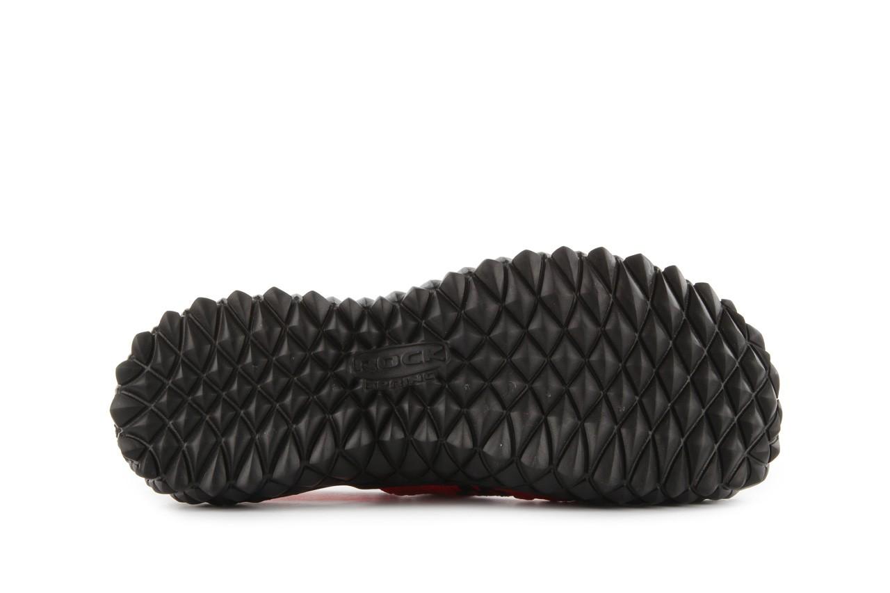 Sandały rock over sandal red-black, czarny/ czerwony, materiał - rock - nasze marki 13