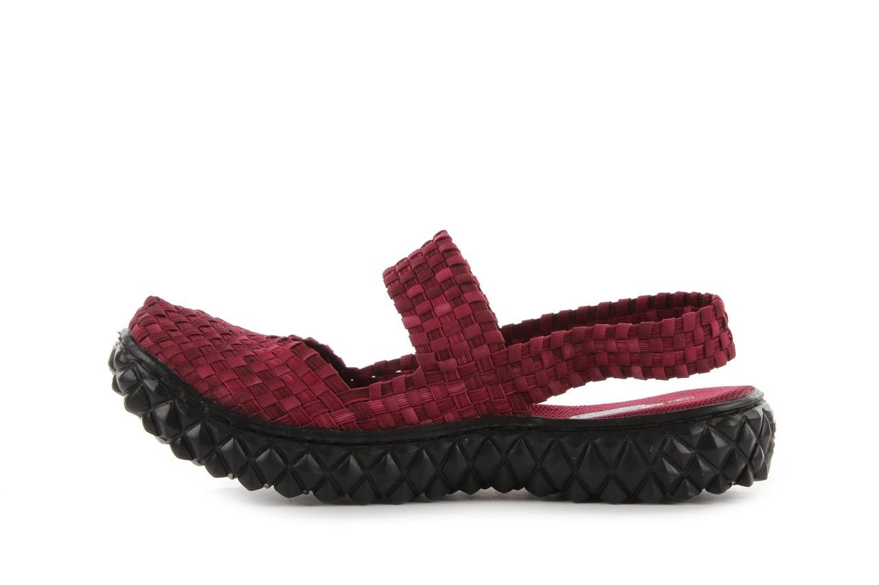 Rock over sandal washed bordo - rock - nasze marki 9