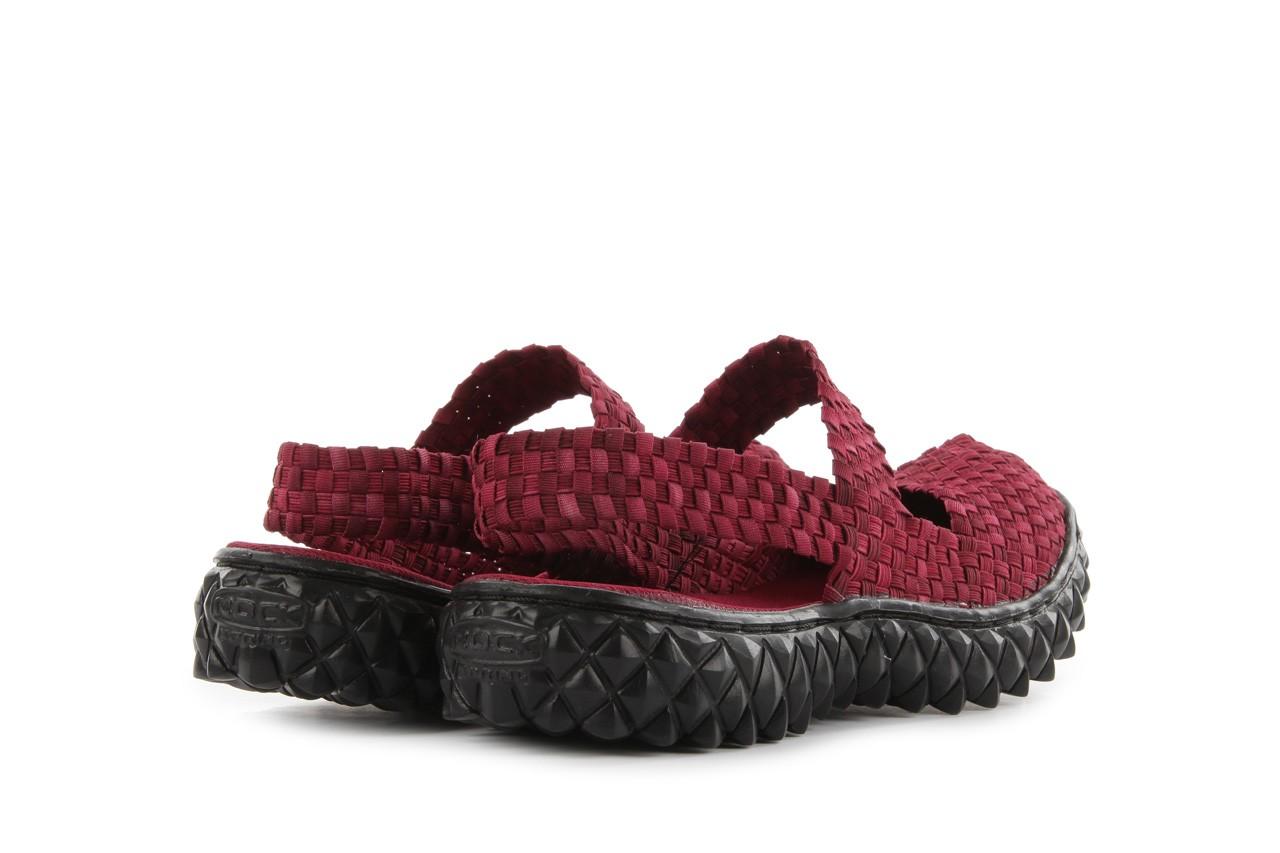 Rock over sandal washed bordo - rock - nasze marki 10