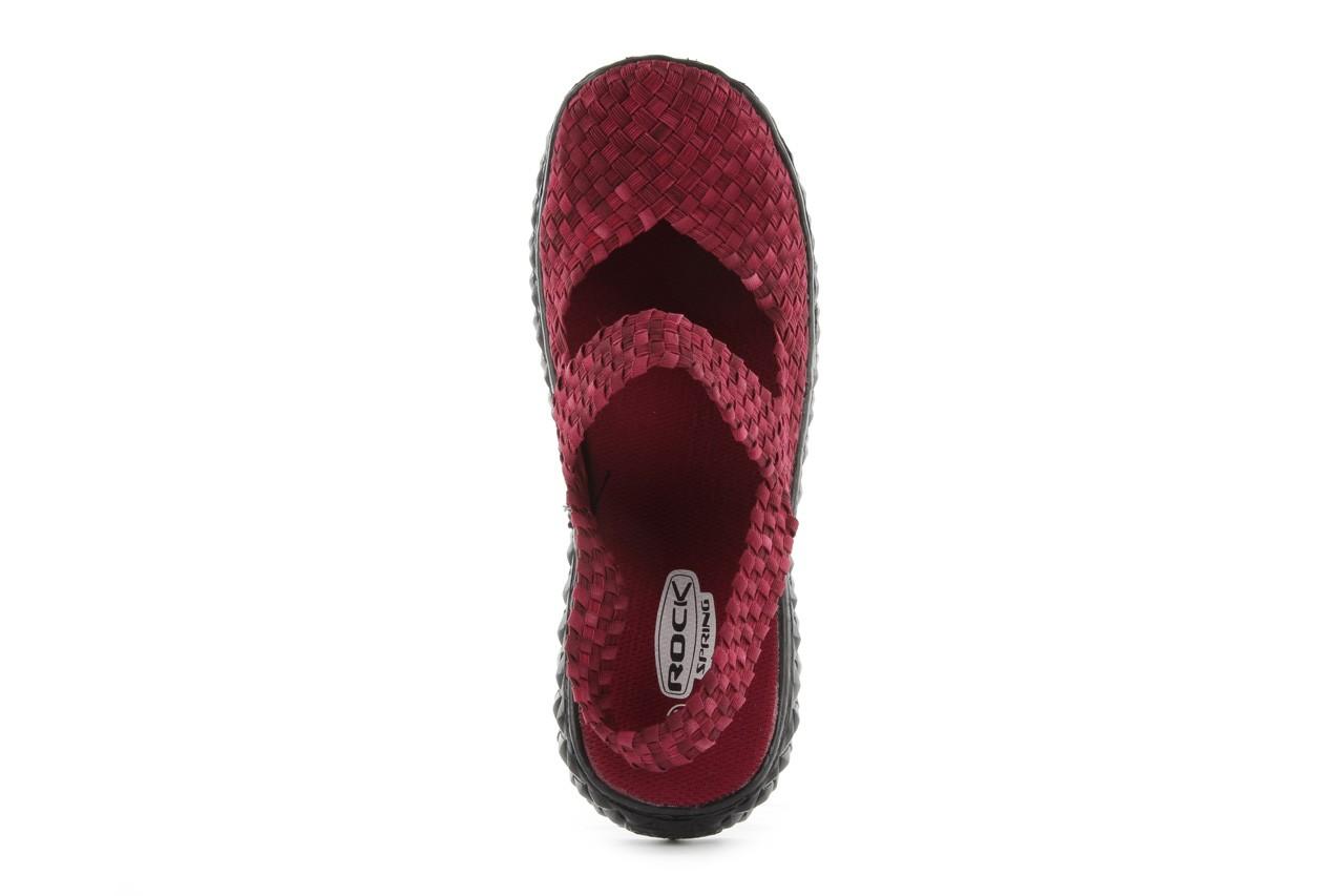 Rock over sandal washed bordo - rock - nasze marki 11