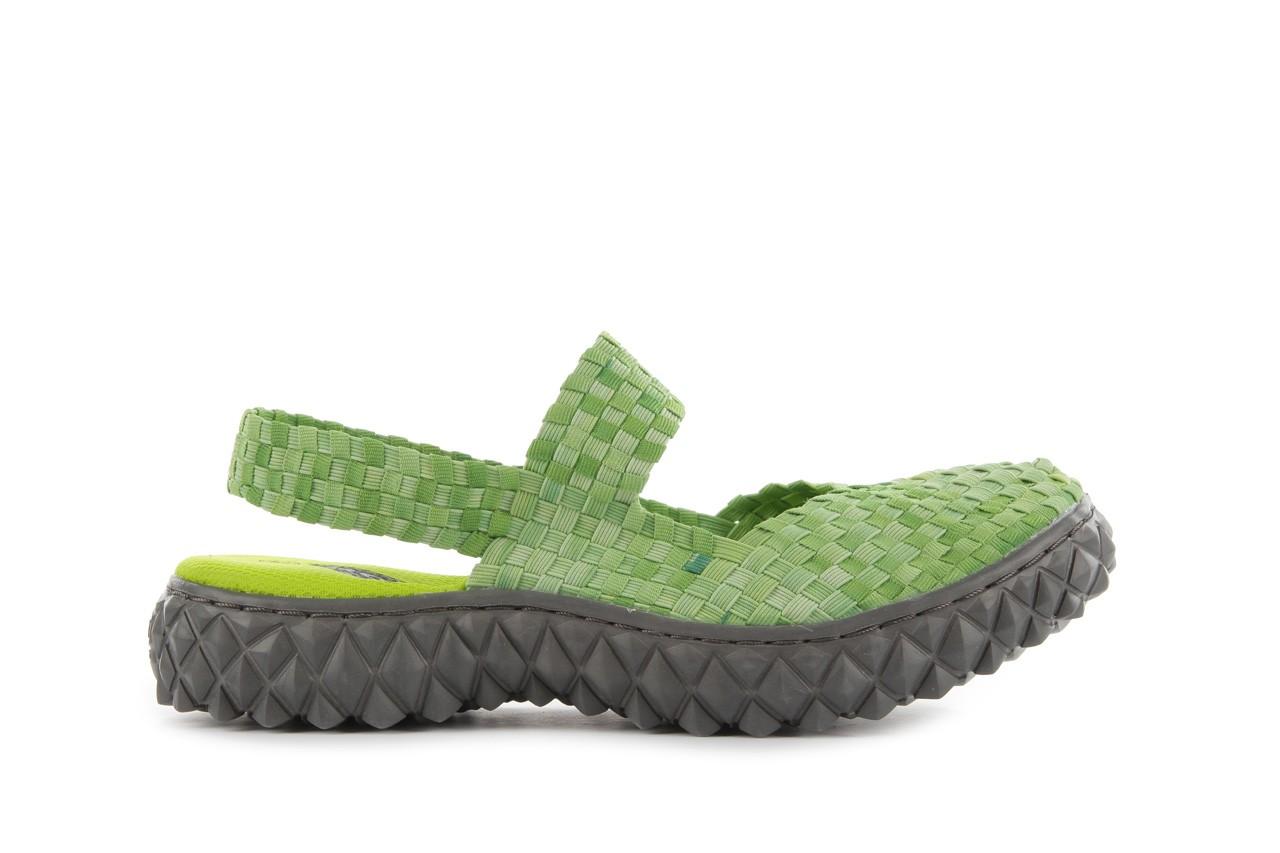 Sandały rock over sandal washed green, zielony, materiał - rock - nasze marki 7