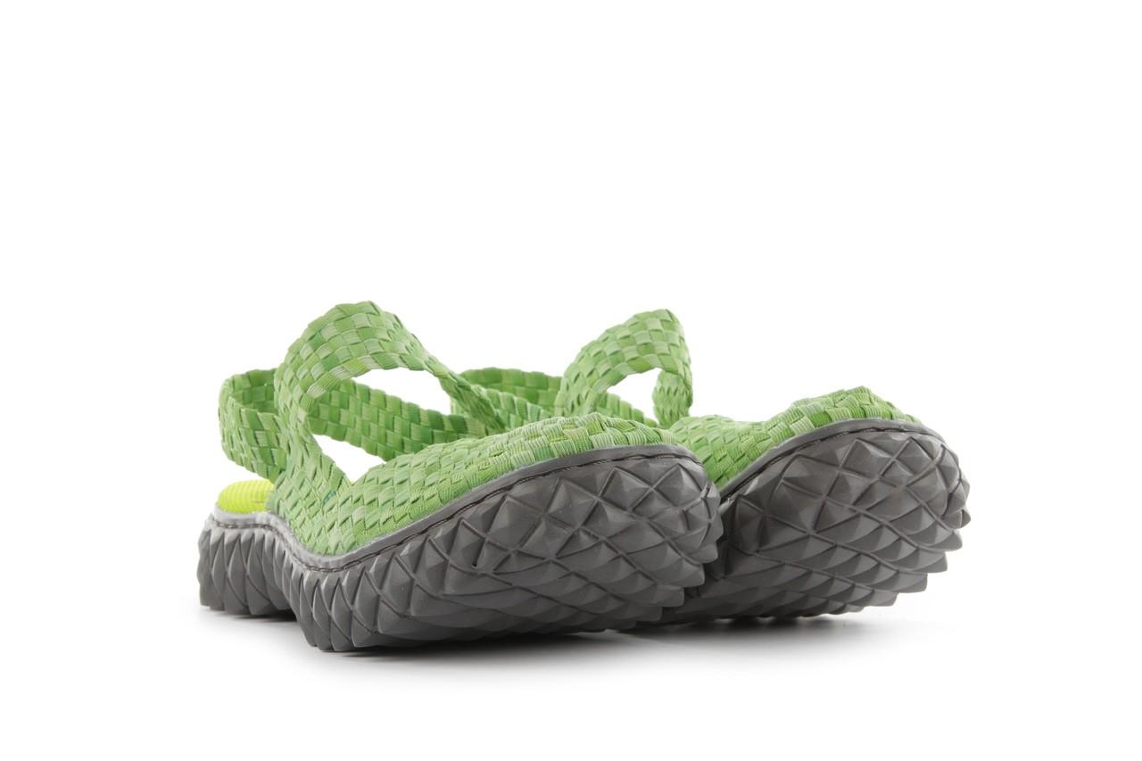 Sandały rock over sandal washed green, zielony, materiał - rock - nasze marki 8