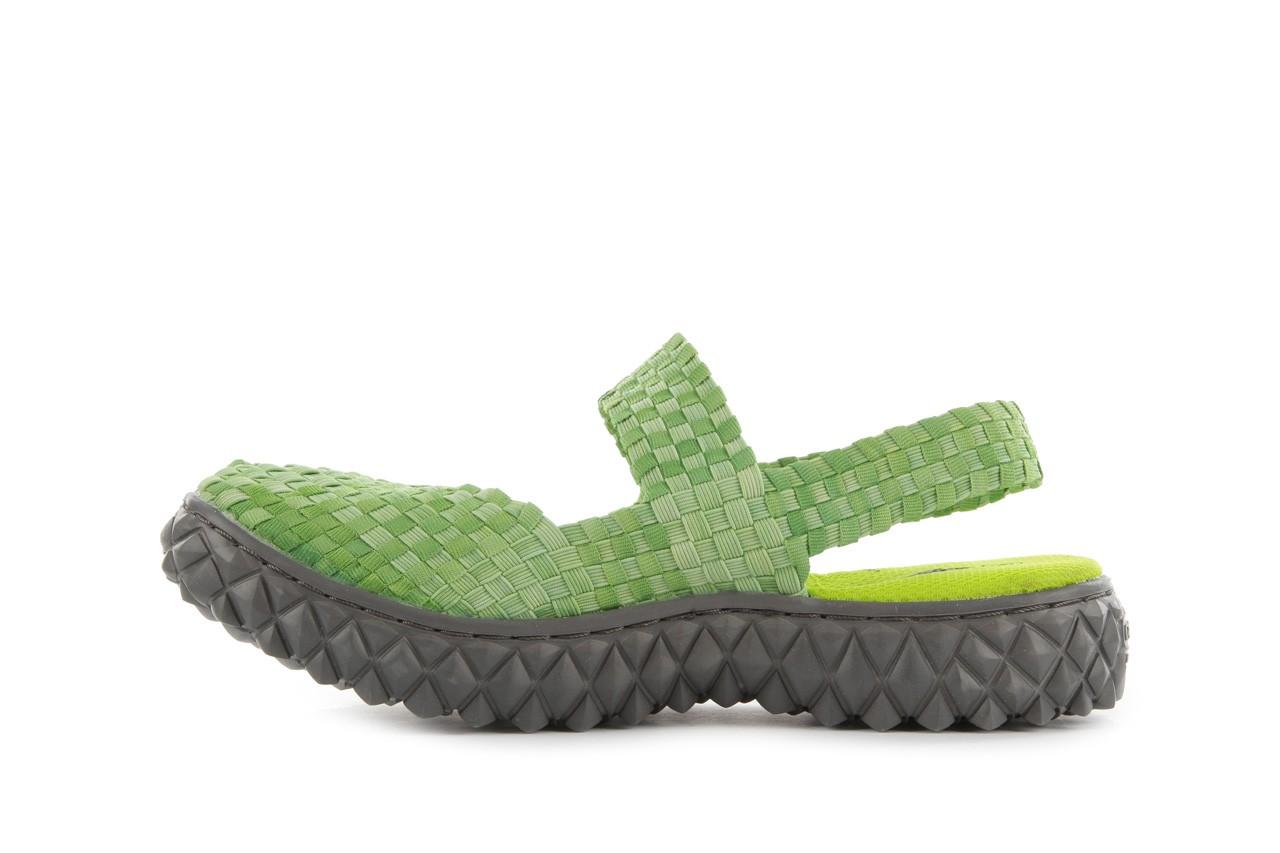 Sandały rock over sandal washed green, zielony, materiał - rock - nasze marki 9