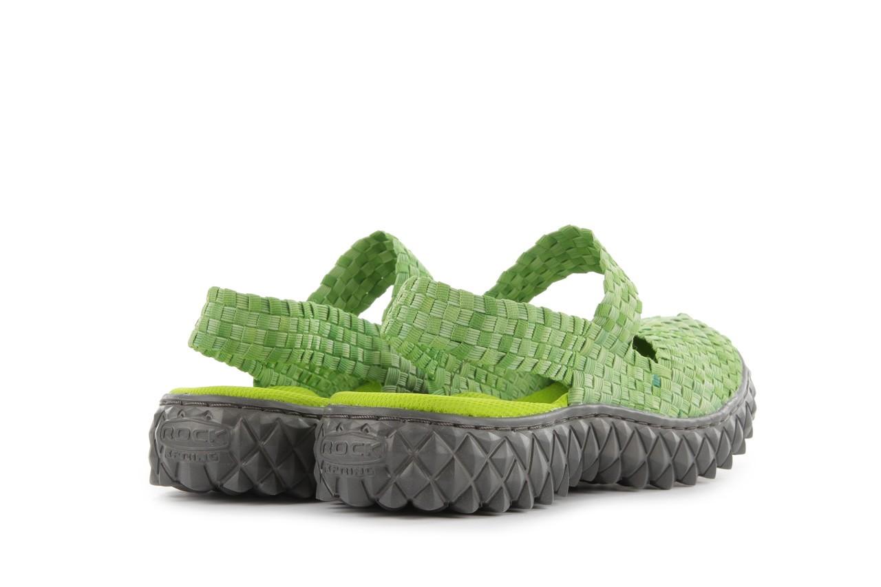 Sandały rock over sandal washed green, zielony, materiał - rock - nasze marki 10