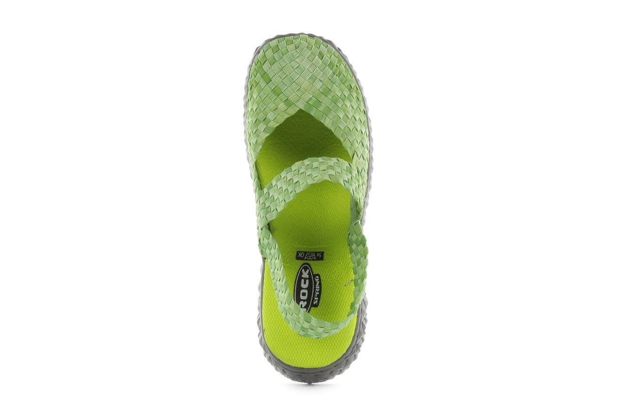 Sandały rock over sandal washed green, zielony, materiał - rock - nasze marki 11