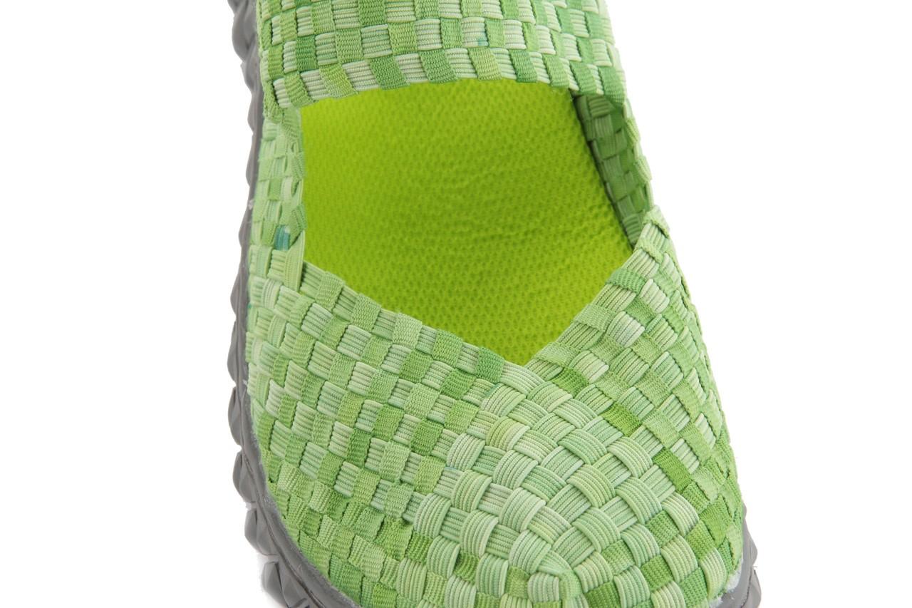 Sandały rock over sandal washed green, zielony, materiał - rock - nasze marki 12