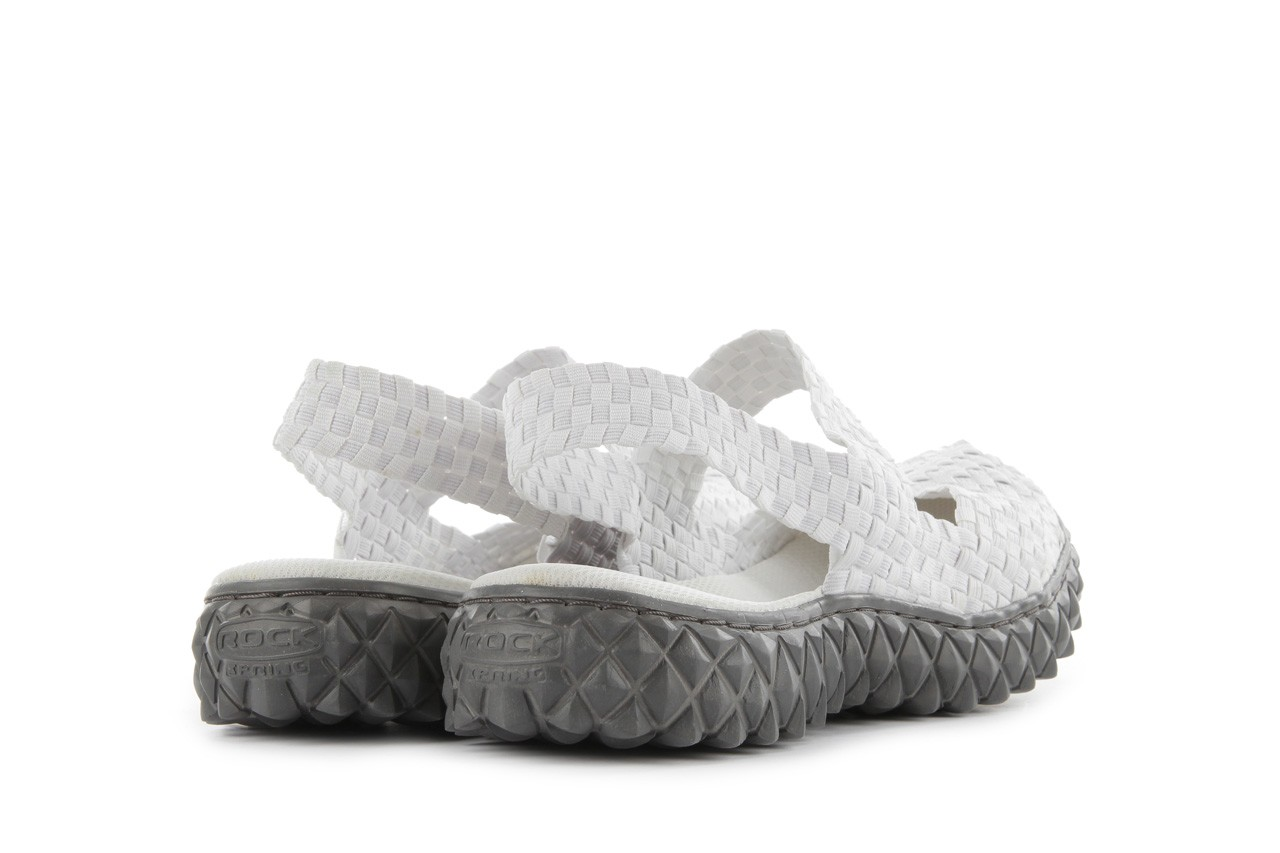 Rock over sandal white - rock - nasze marki 10