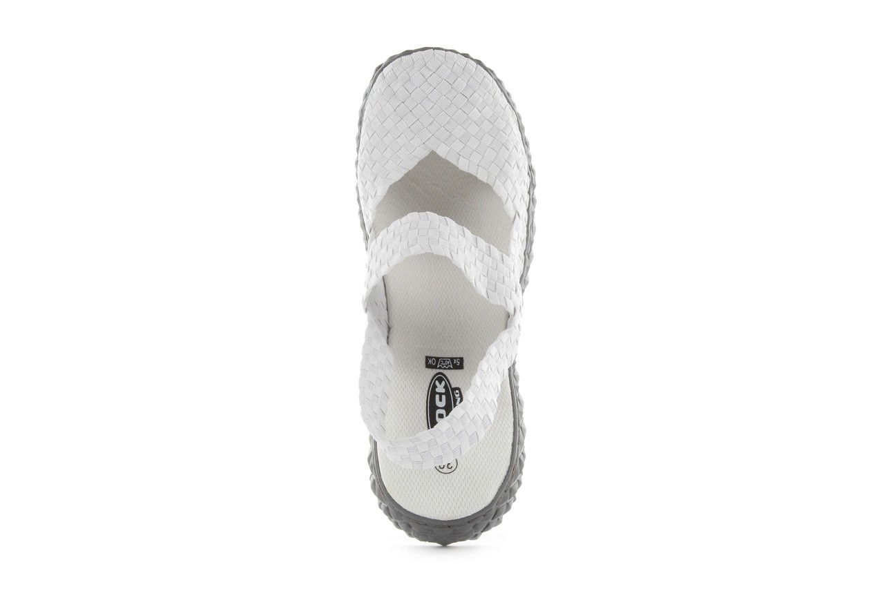 Rock over sandal white - rock - nasze marki 11