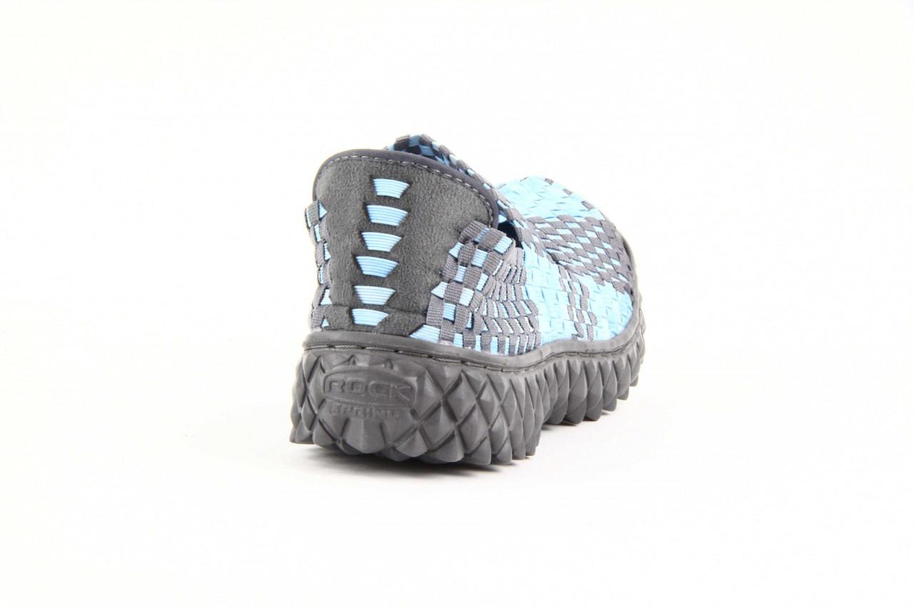 Półbuty rock over washed blue-grey, niebieski, materiał - rock - nasze marki 7