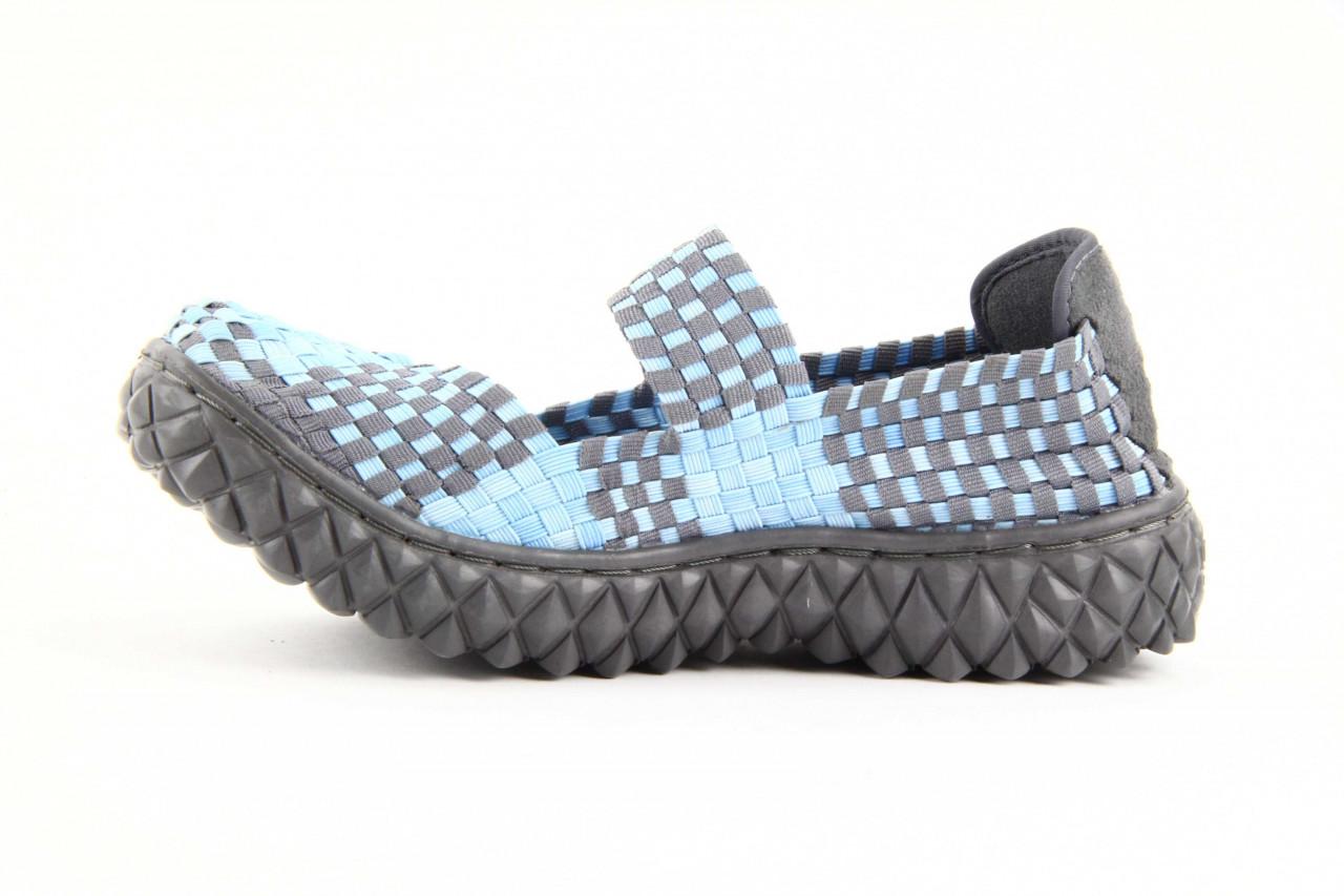 Półbuty rock over washed blue-grey, niebieski, materiał - rock - nasze marki 9