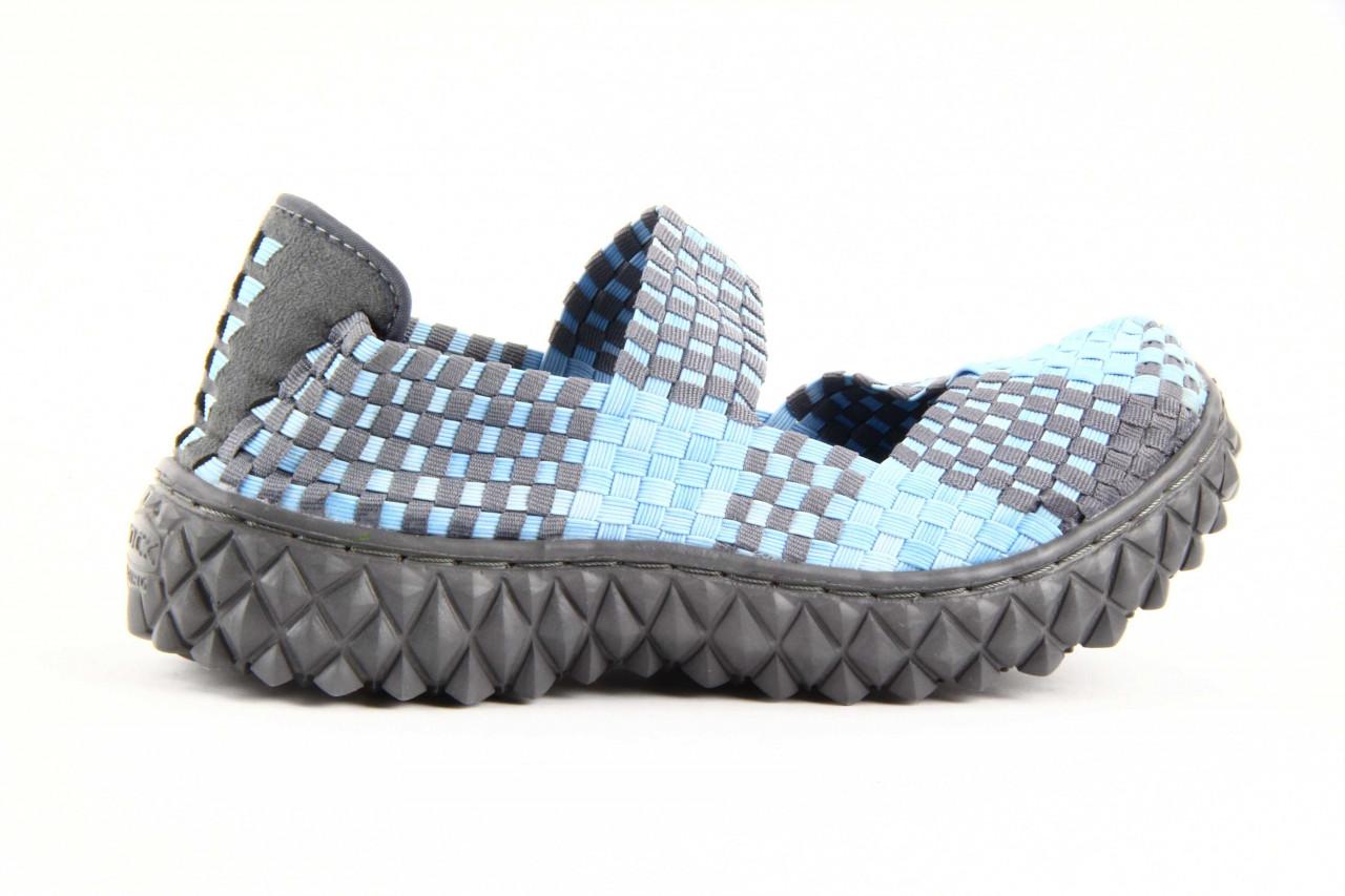 Półbuty rock over washed blue-grey, niebieski, materiał - rock - nasze marki 10