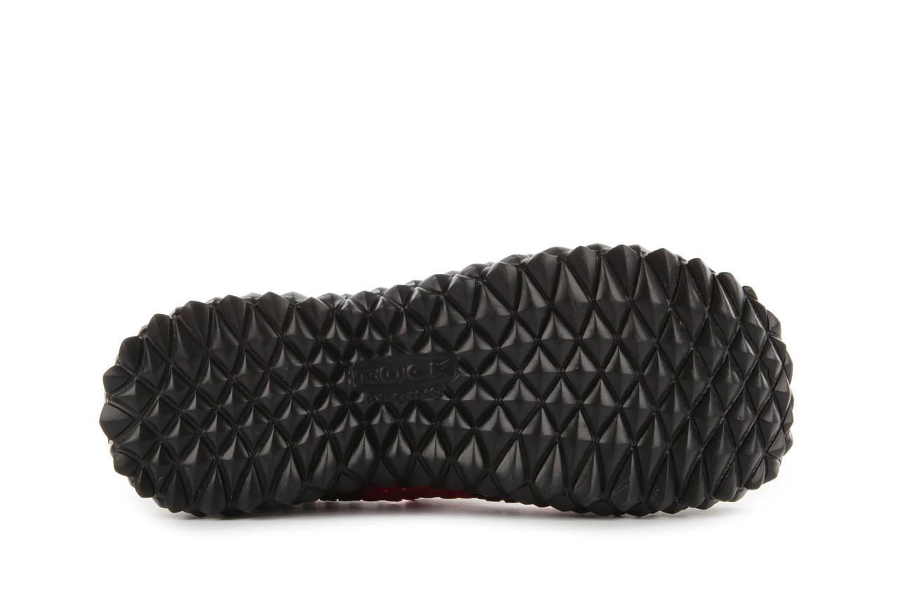 Sandały rock over washed red-black, czarny/ czerwony, materiał - rock - nasze marki 13