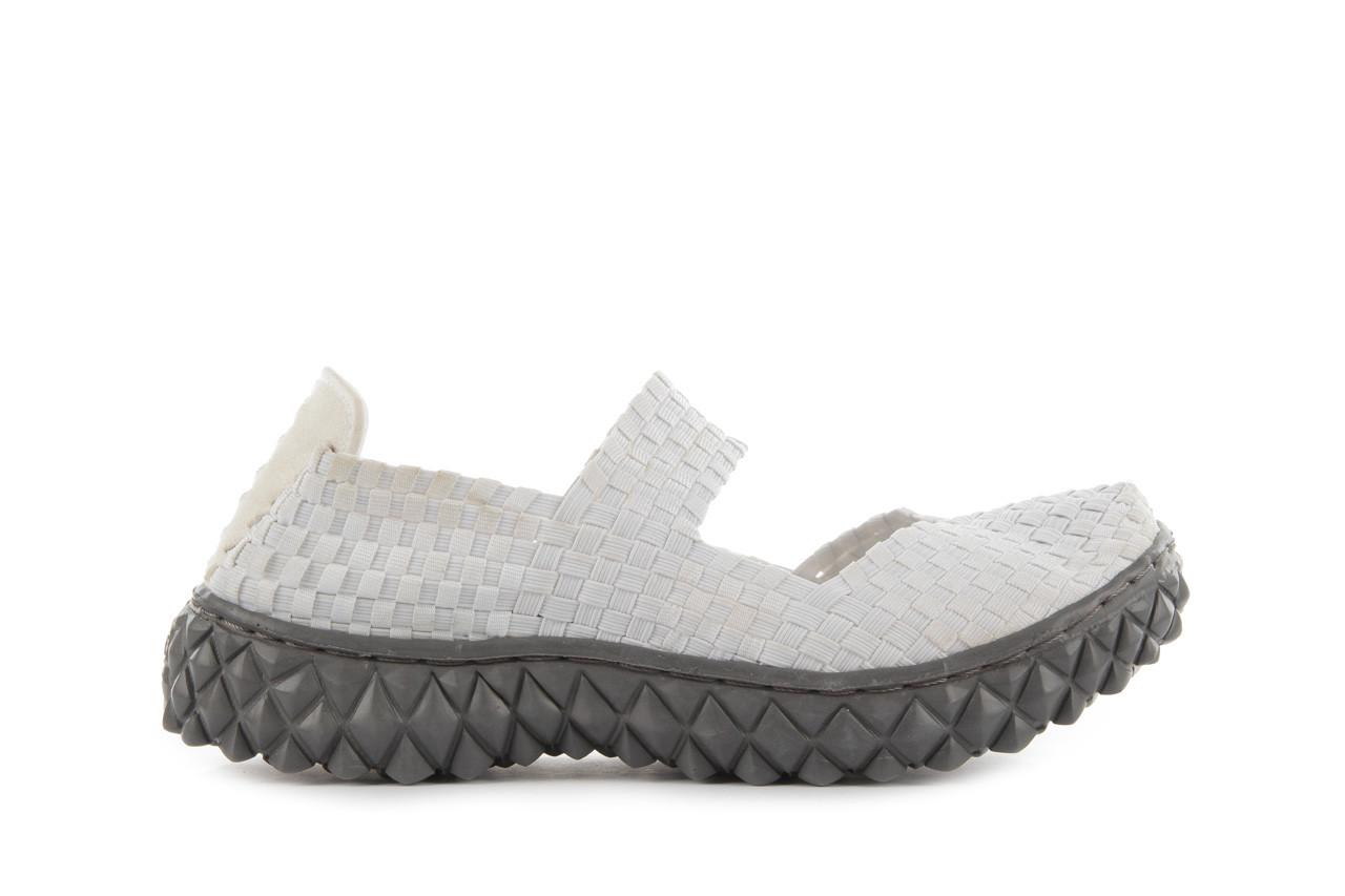 Sandały rock over white off white, biały, materiał - rock - nasze marki 8