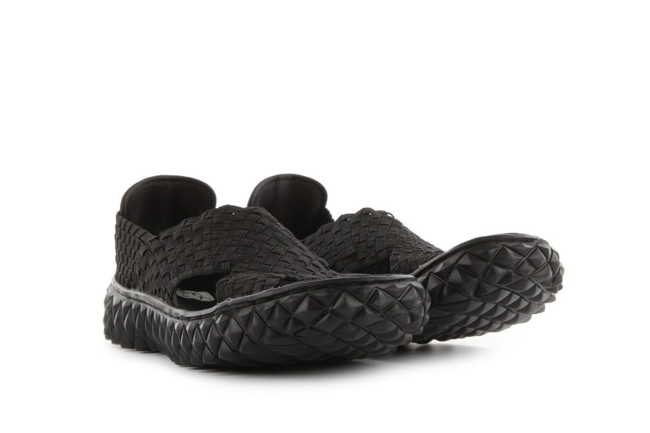 Sandały rock romus black, czarny, materiał - rock - nasze marki 6