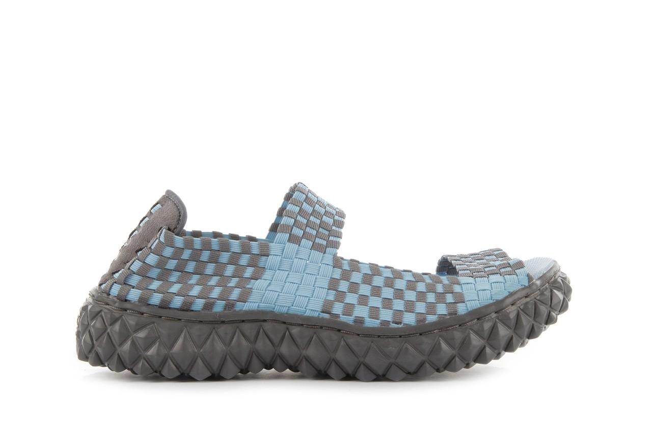 Rock sandal 2 closed blue-grey - rock - nasze marki 8
