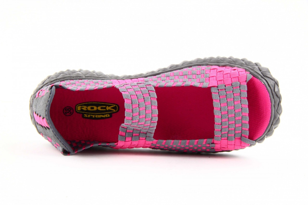 Rock sandal 2 closed fuchsia-grey - rock - nasze marki 11