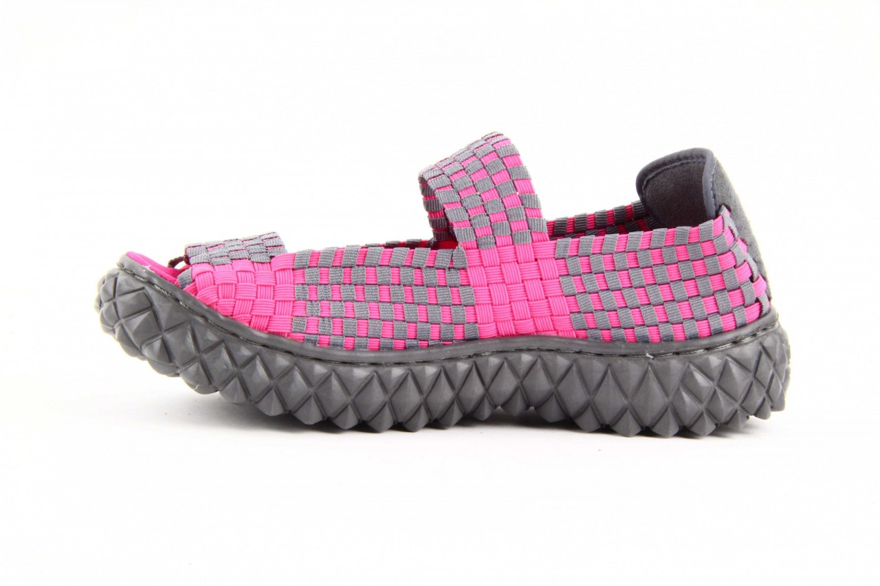 Rock sandal 2 closed fuchsia-grey - rock - nasze marki 8