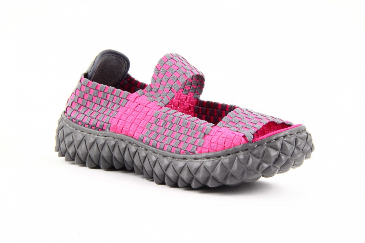 Rock sandal 2 closed fuchsia-grey - rock - nasze marki 9
