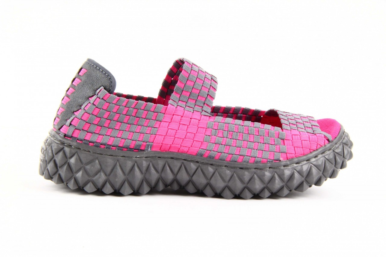 Rock sandal 2 closed fuchsia-grey - rock - nasze marki 10