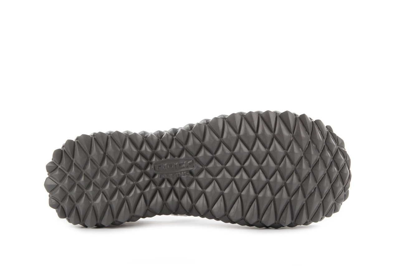 Sandały rock sandal 2 closed white, białe, materiał 13