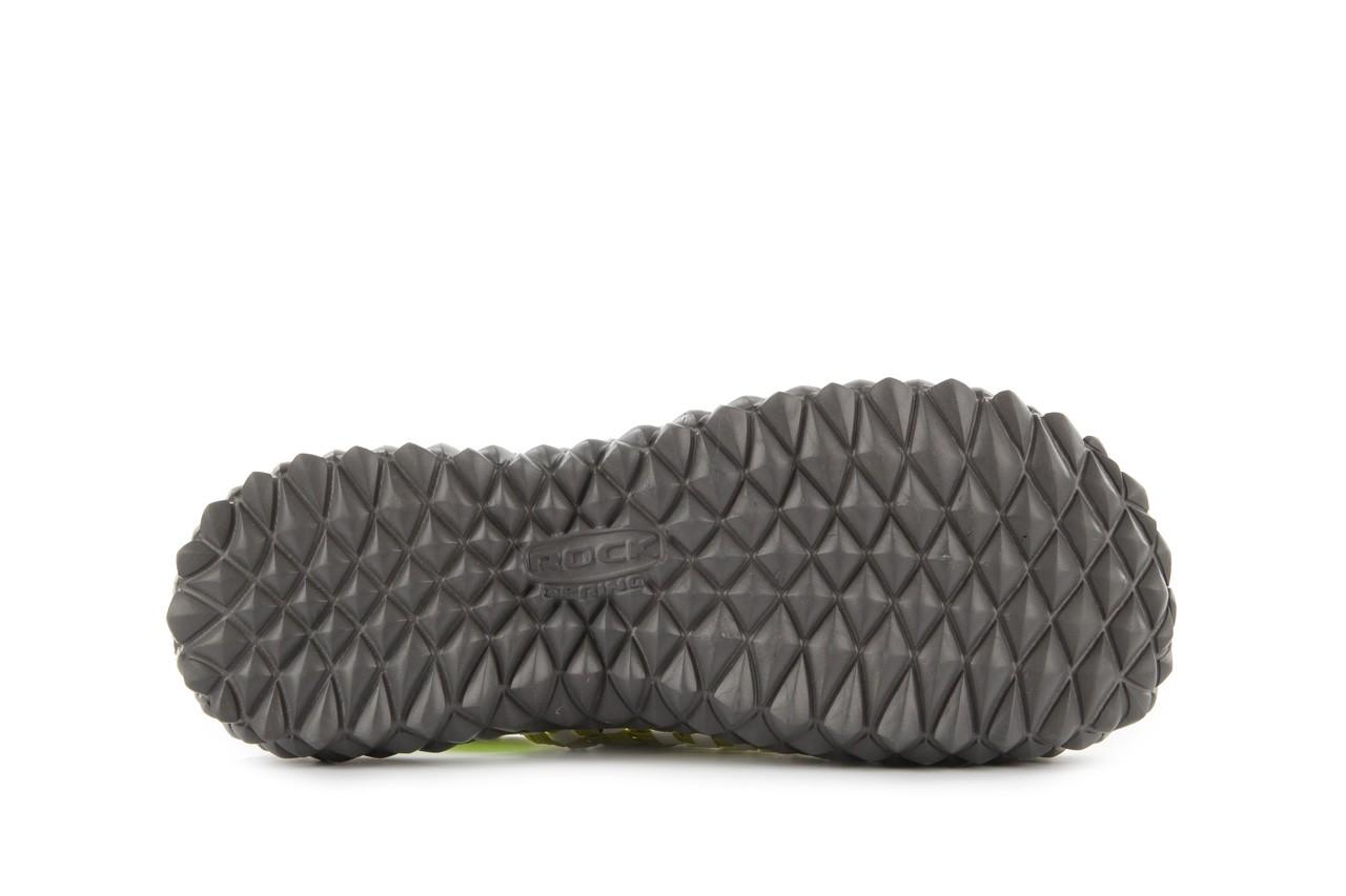 Sadały rock sandal 2 green-white, zielony/ biały, materiał - rock - nasze marki 12