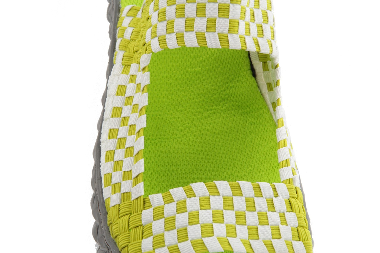 Sadały rock sandal 2 green-white, zielony/ biały, materiał - rock - nasze marki 13