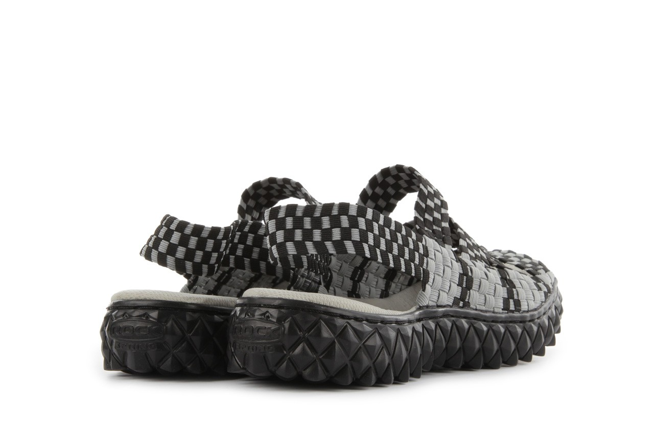 Rock sandal 4 grey black - rock - nasze marki 10