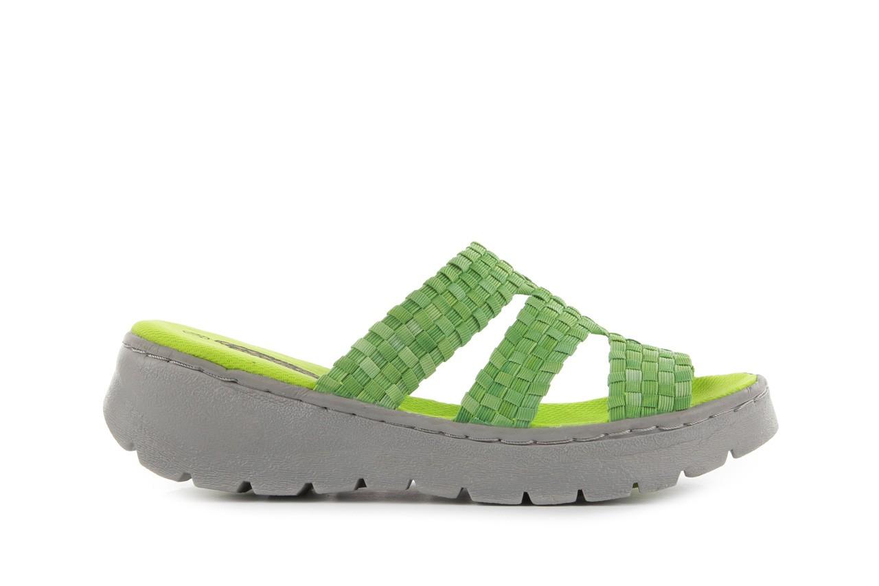 Sandały rock santa barbara green washed, zielony, materiał - rock - nasze marki 6