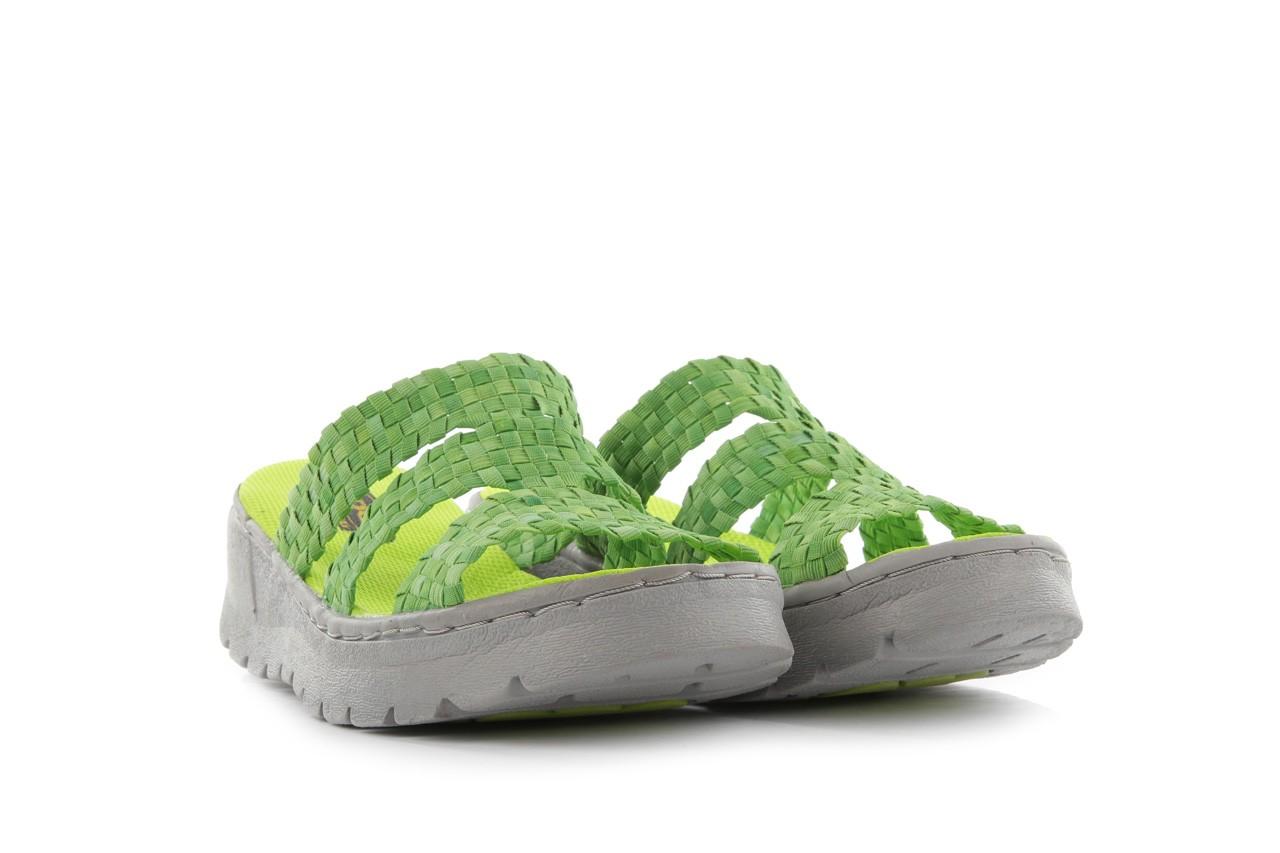 Sandały rock santa barbara green washed, zielony, materiał - rock - nasze marki 7