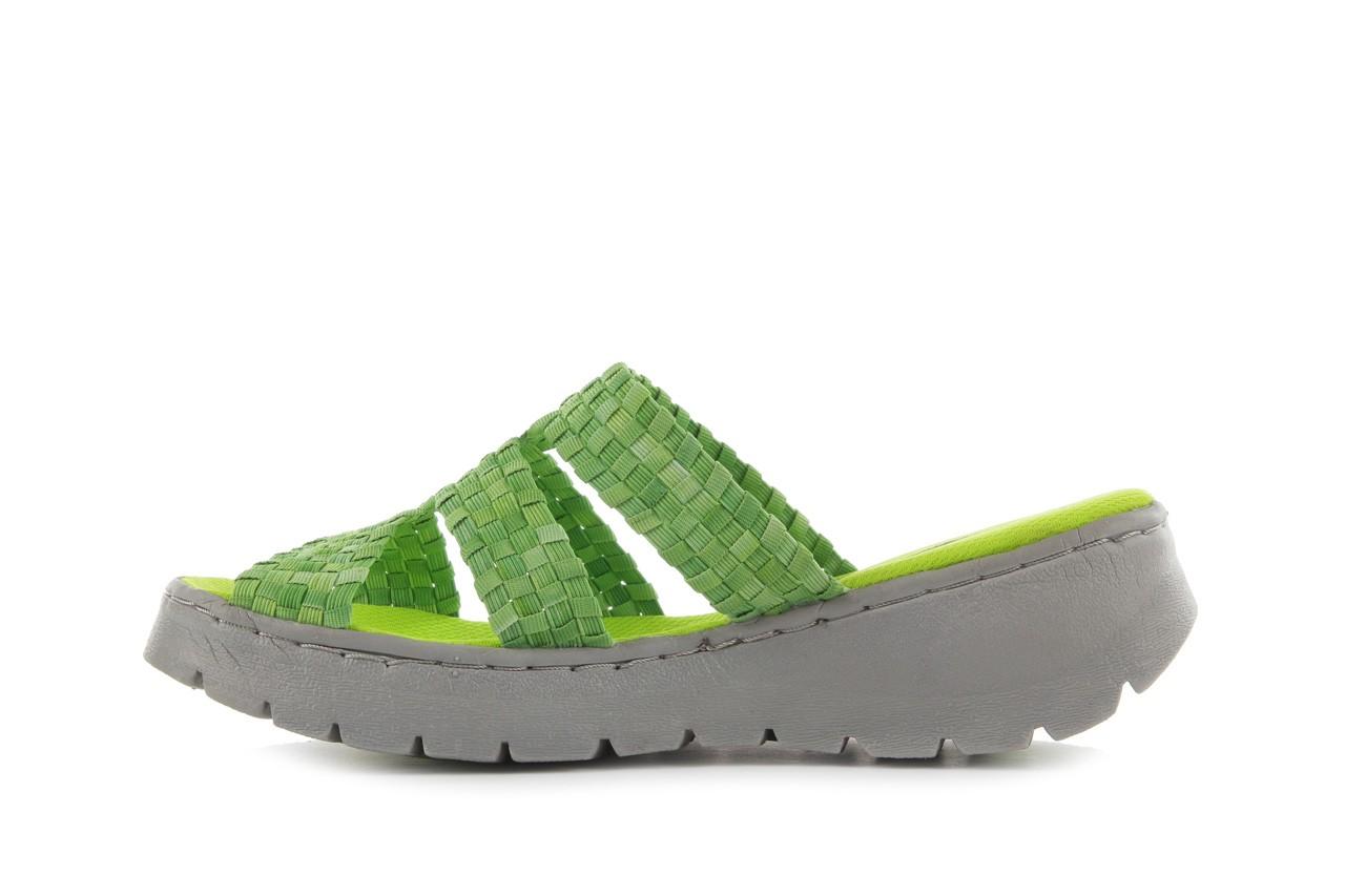 Sandały rock santa barbara green washed, zielony, materiał - rock - nasze marki 8