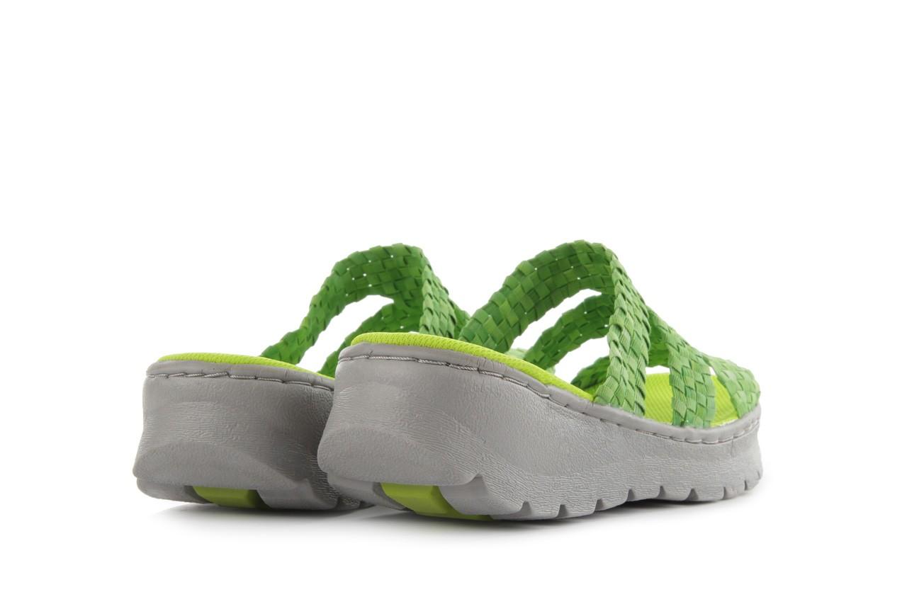 Sandały rock santa barbara green washed, zielony, materiał - rock - nasze marki 9