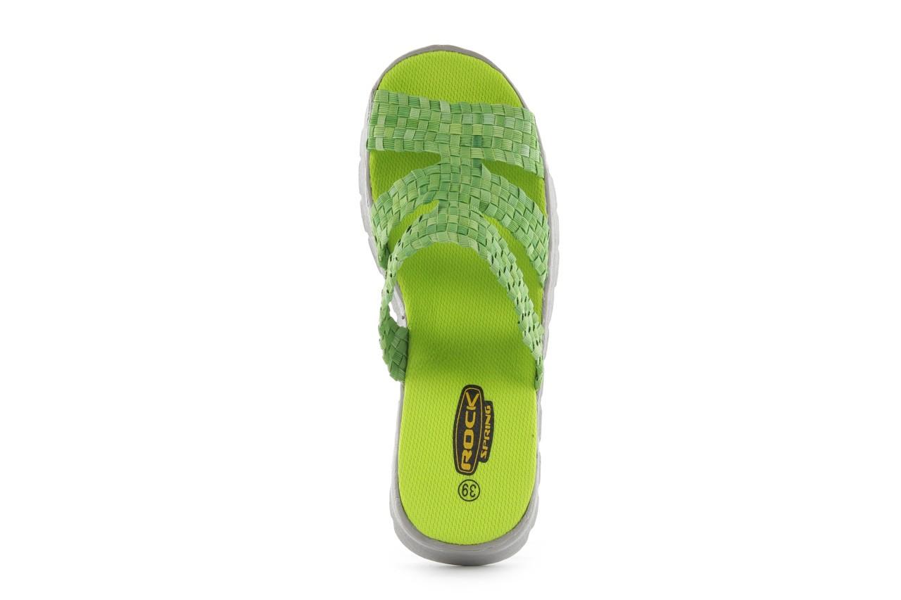 Sandały rock santa barbara green washed, zielony, materiał - rock - nasze marki 10