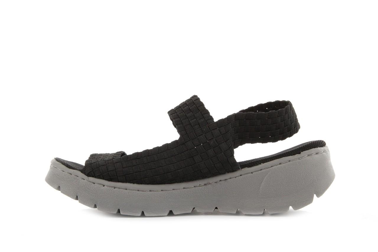 Sandały rock santa clara black, czarny, materiał - rock - nasze marki 8