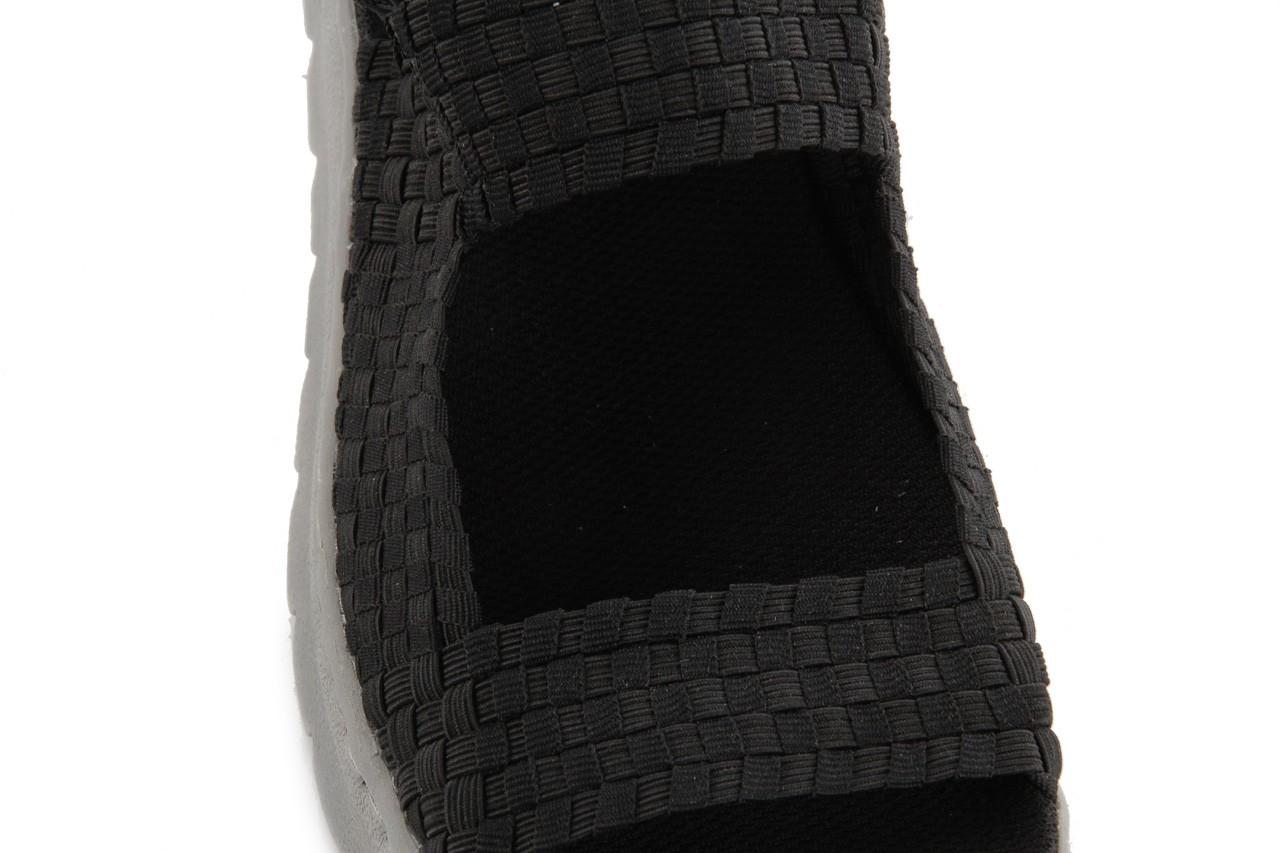 Sandały rock santa clara black, czarny, materiał - rock - nasze marki 11