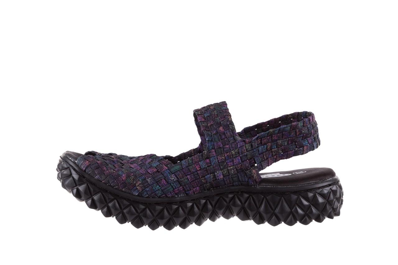 Sandały rock sofia galaxy 20, fioletowy, materiał - płaskie - sandały - buty damskie - kobieta 8