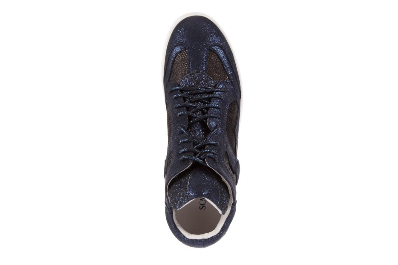 Sneakersy sca'viola 1208-1 navy, granat. skóra naturalna  - sca`viola - nasze marki 10