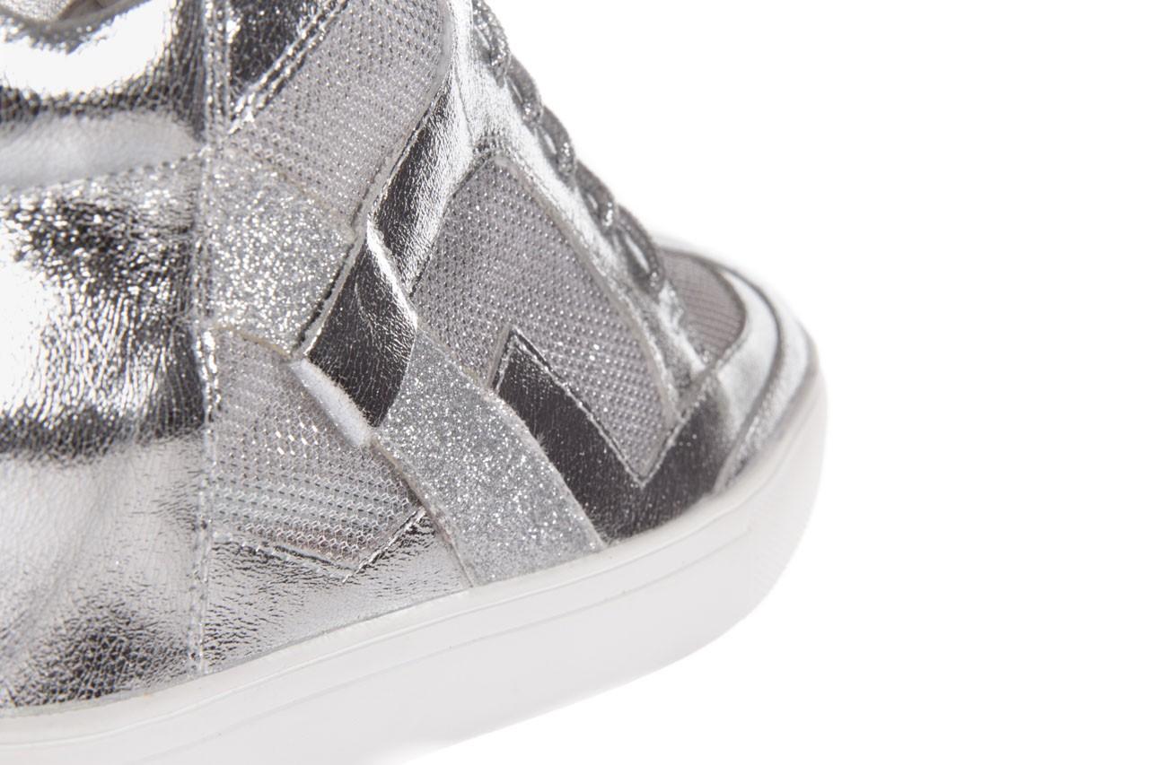 Sneakersy sca'viola 1208-1 silver, srebro, skóra naturalna  - sca`viola - nasze marki 11