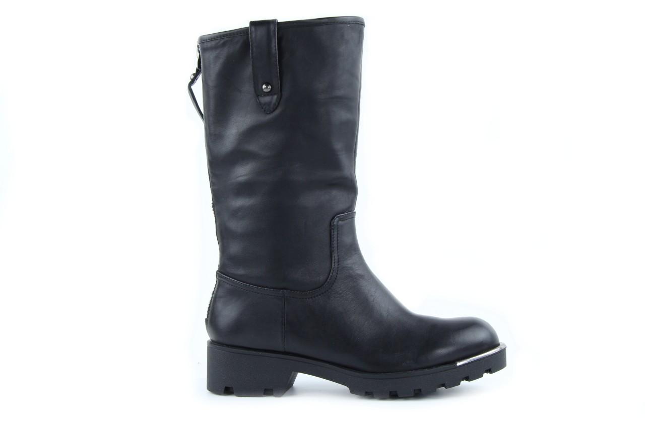 Kozaki sca'viola 6ia70 black, czarny, skóra naturalna  - płaskie - kozaki - buty damskie - kobieta 7