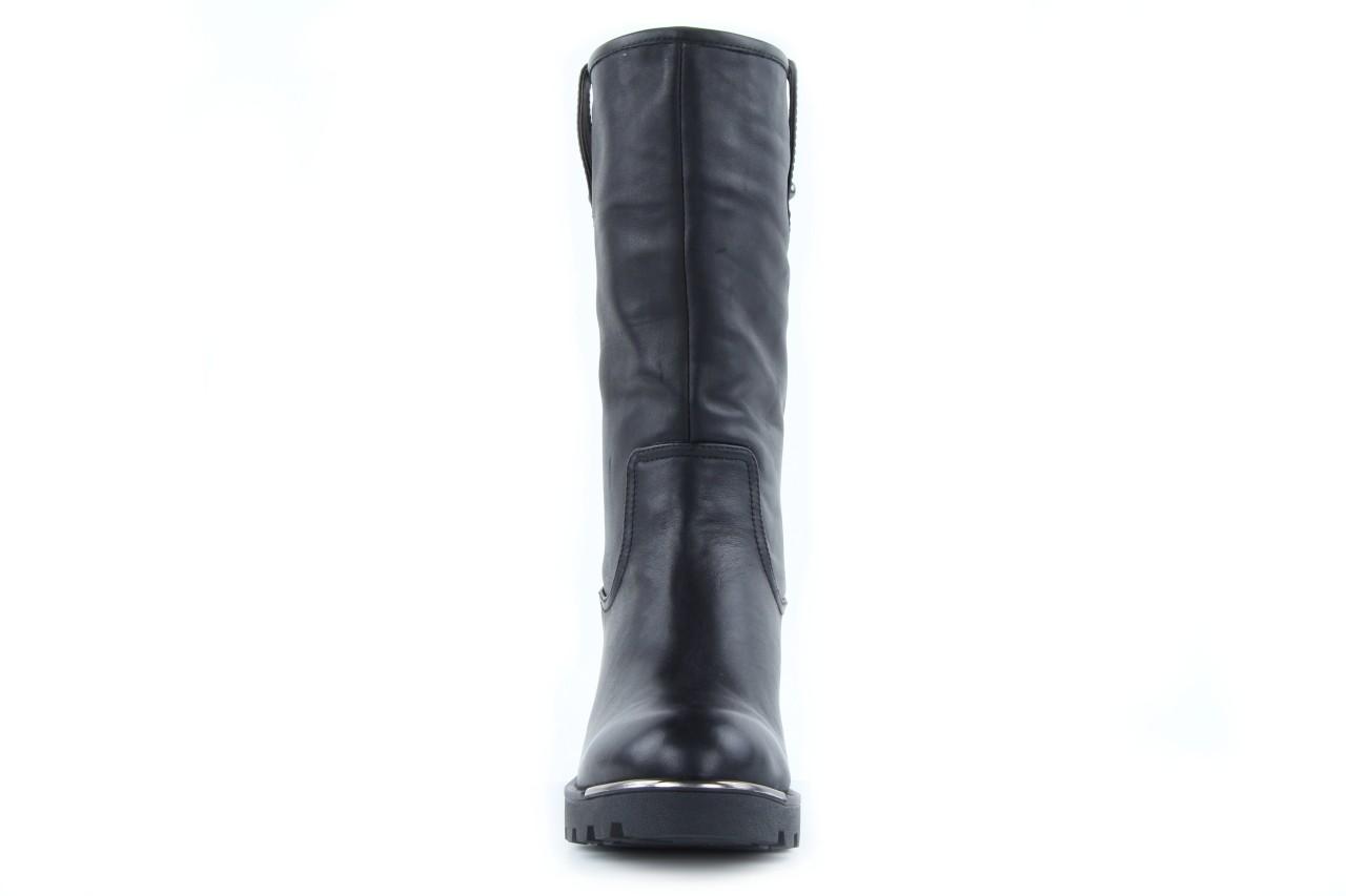 Kozaki sca'viola 6ia70 black, czarny, skóra naturalna  - płaskie - kozaki - buty damskie - kobieta 8