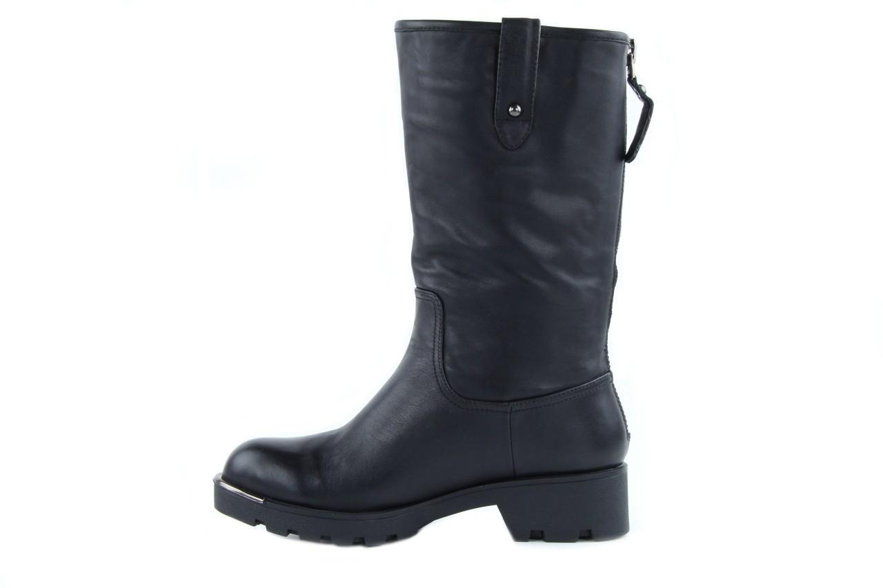Kozaki sca'viola 6ia70 black, czarny, skóra naturalna  - płaskie - kozaki - buty damskie - kobieta 11