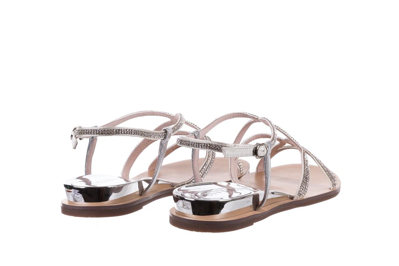 Sandały sca'viola b-43 silver, srebrne, skóra naturalna  - sca`viola - nasze marki 14