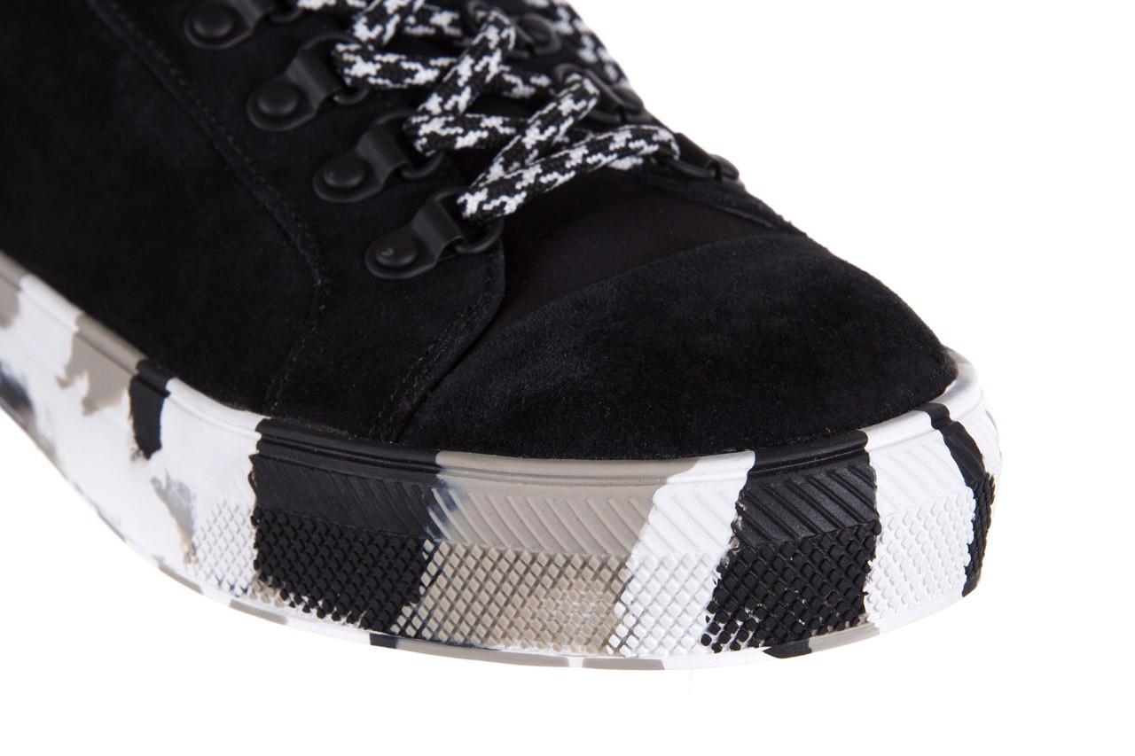 Trampki sca'viola lwu15 black, czarny, skóra naturalna  - obuwie sportowe - dla niej - dodatkowe -10% 11