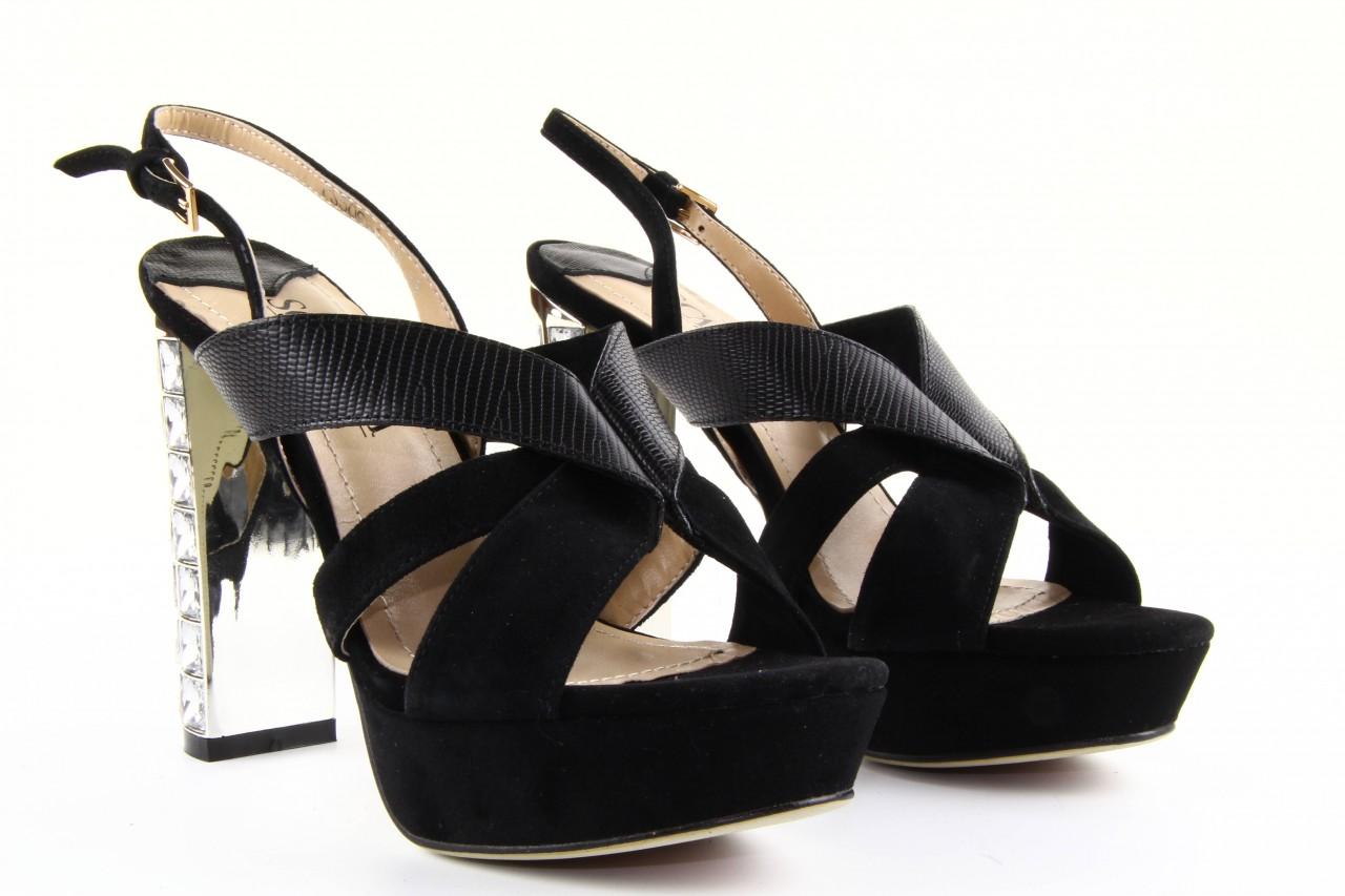Sandały sca'viola ps509-1-1n black, czarny, skóra naturalna  - sca`viola - nasze marki 13