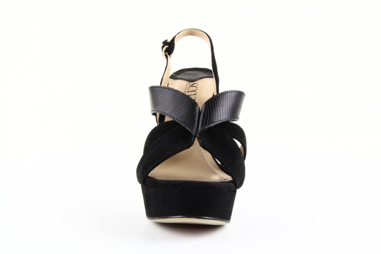 Sandały sca'viola ps509-1-1n black, czarny, skóra naturalna  - sca`viola - nasze marki 7