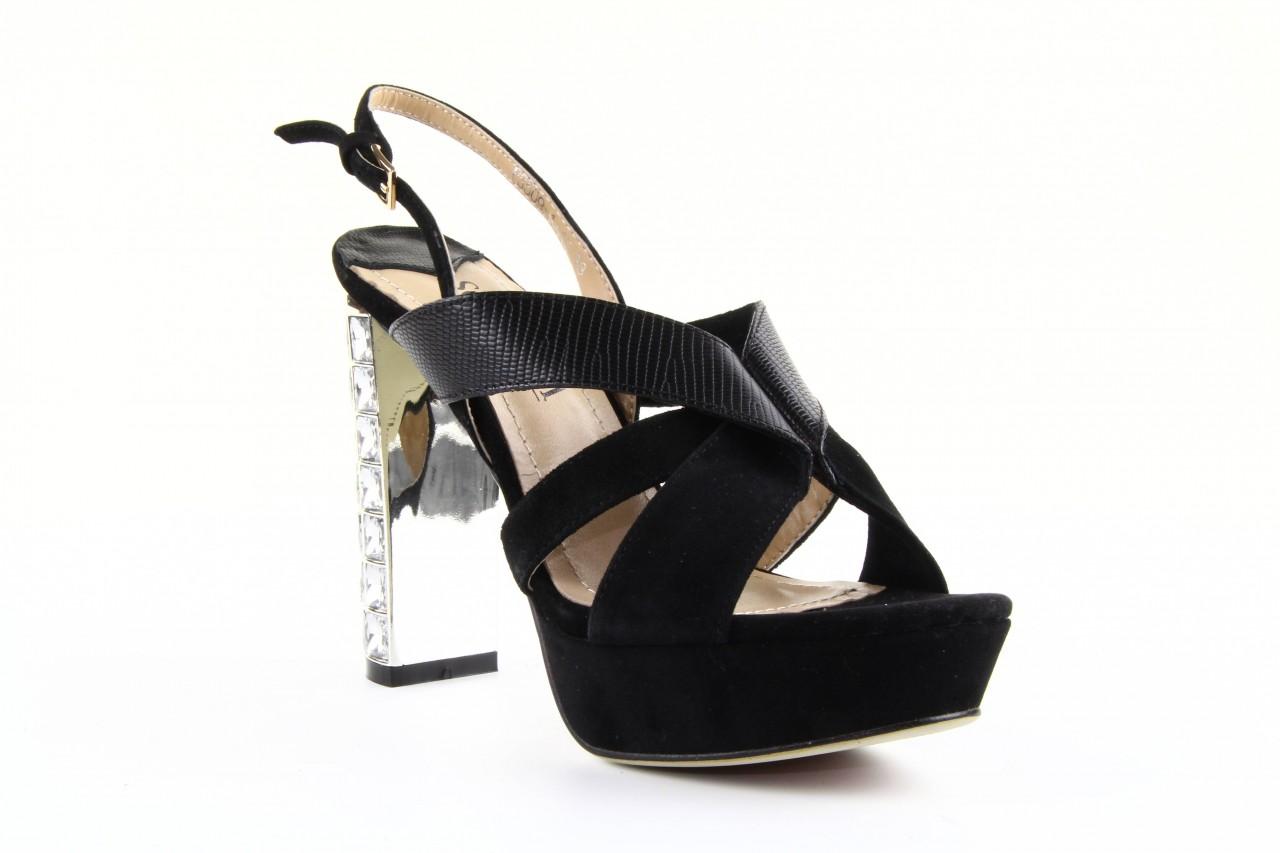 Sandały sca'viola ps509-1-1n black, czarny, skóra naturalna  - sca`viola - nasze marki 8