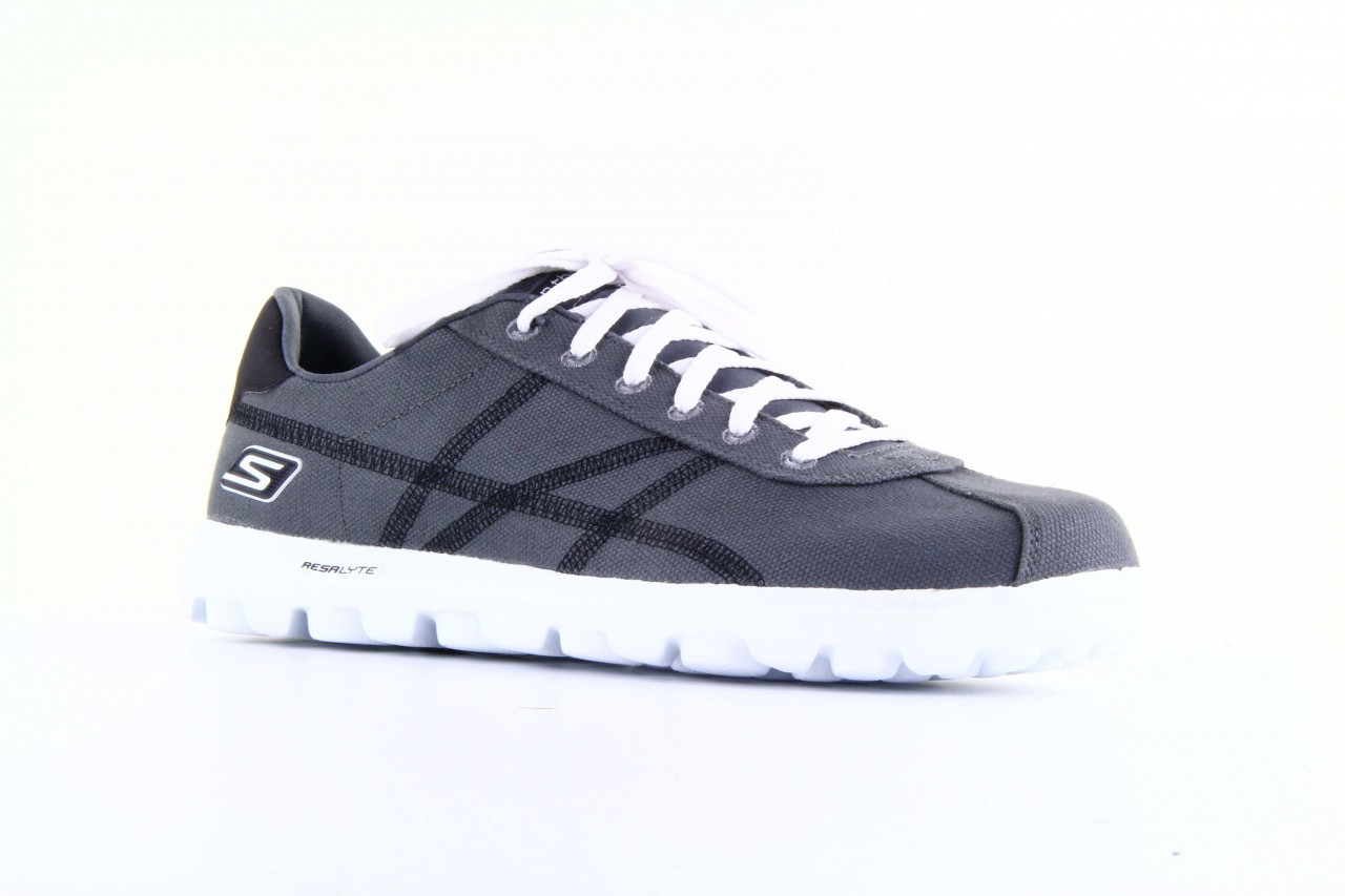 Skechers 53661 gybk gray- black 12