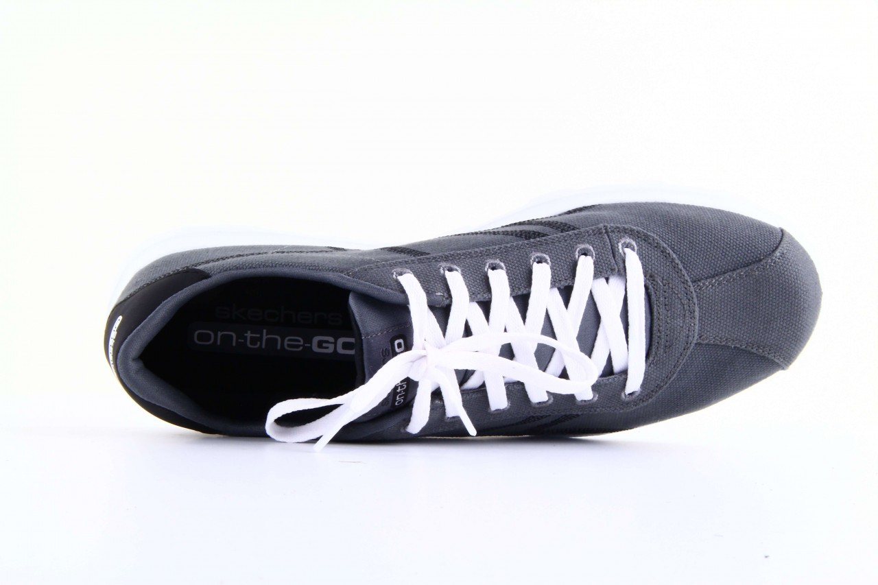 Skechers 53661 gybk gray- black 11