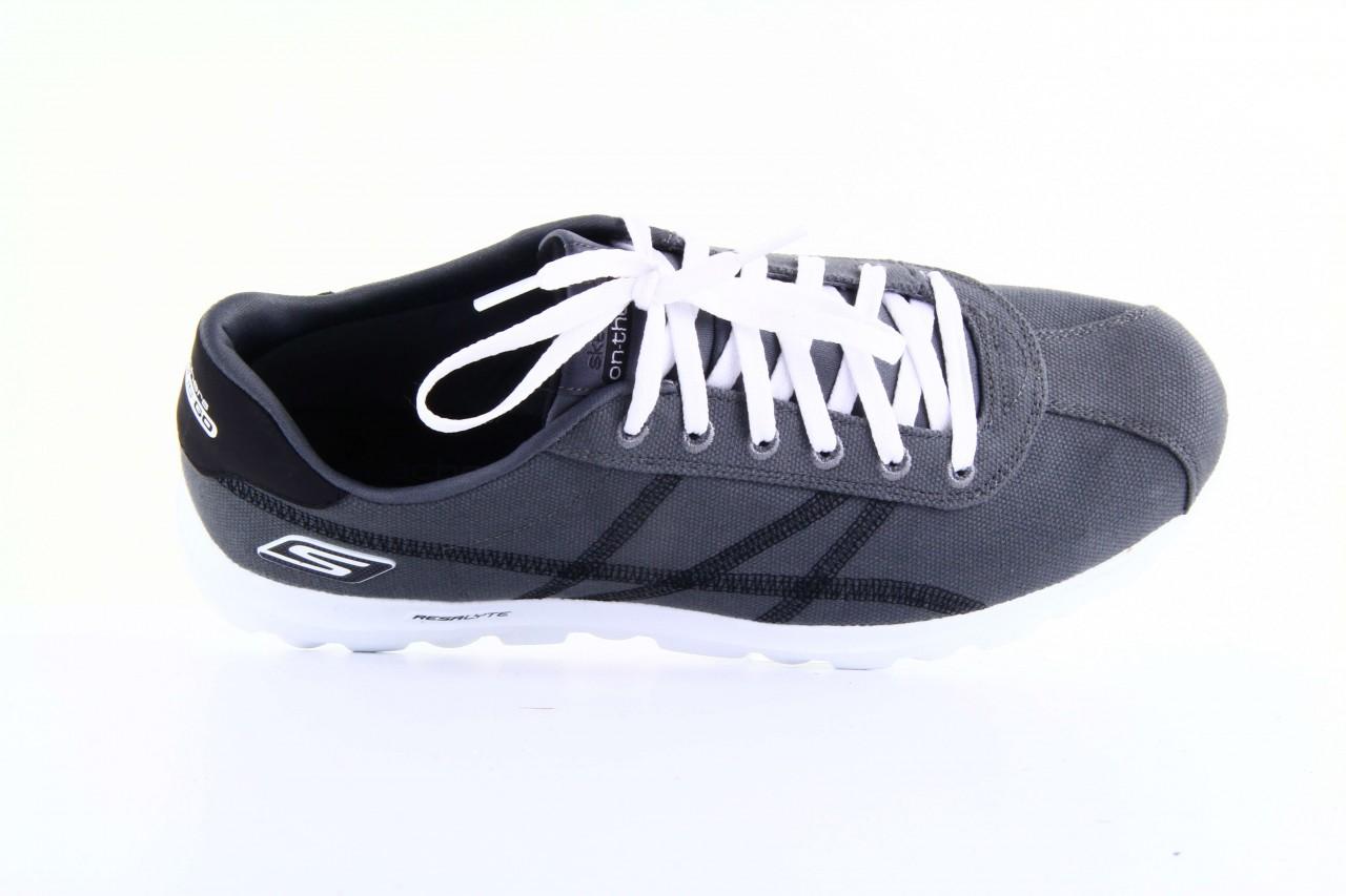 Skechers 53661 gybk gray- black 9